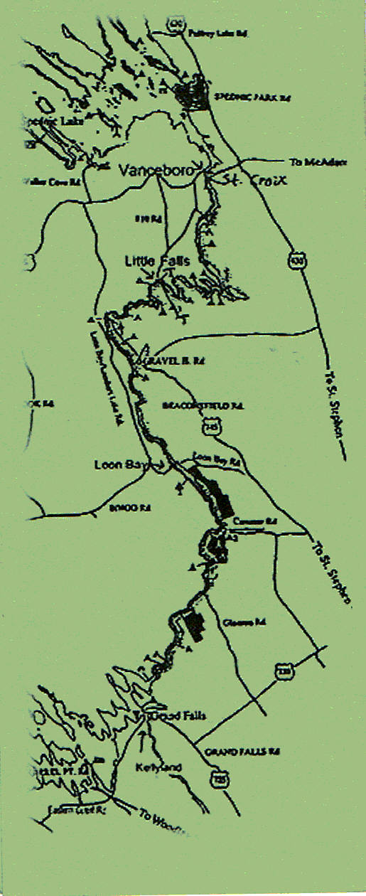 st croix river map